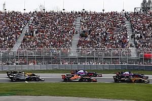 Grosjean dijo que el movimiento de Sainz fue