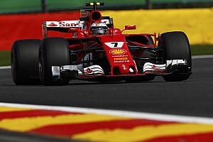 Formula 1 Practice report Belgian GP: Raikkonen pips Hamilton in FP1
