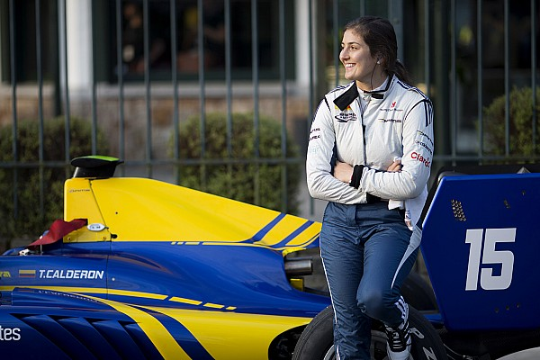 Tatiana Calderón va débuter en Formule V8 3.5