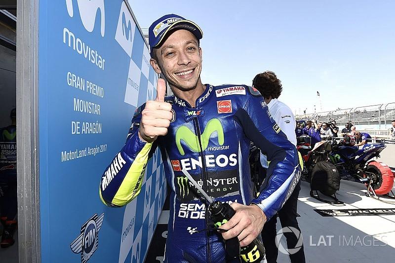 Un paddock ébahi par la première ligne de Rossi