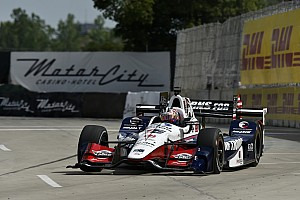 IndyCar Rennbericht IndyCar-Double-Header in Detroit: Graham Rahal dominiert Rennen 1