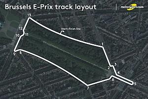 Формула E Новость Брюссельский этап Формулы Е столкнулся с проблемами