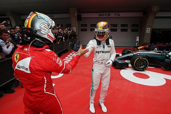 Lewis Hamilton habló sobre sus rivales en 2018