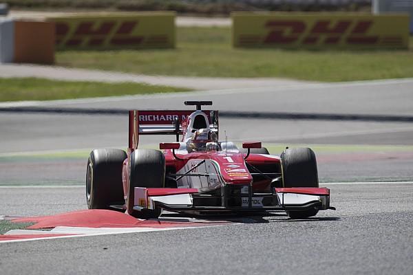 Barcelona F2: Leclerc bir kez daha kazandı