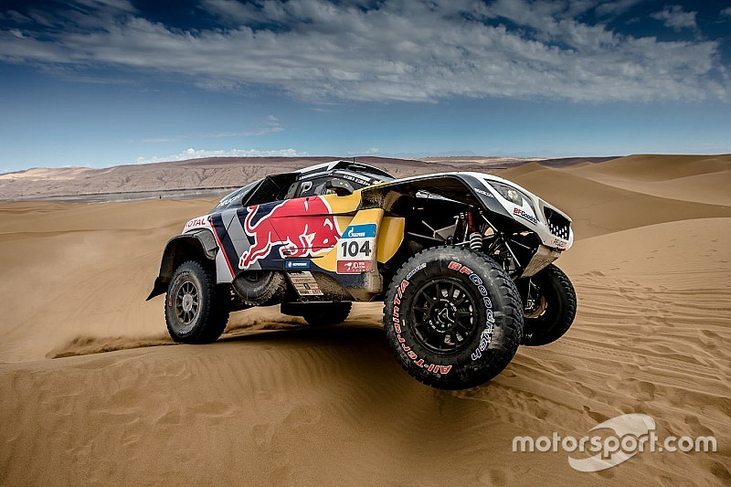 Loeb forced out of Silk Way Rally due to wrist injury