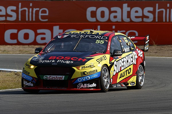 Supercars Ipswich Supercars: Mostert holds on for Sunday win