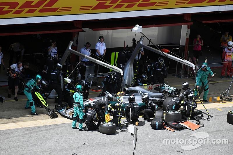 Вольф рассказал о вкладе в победу тактического штаба Mercedes