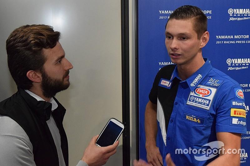 """Van der Mark blij met Yamaha: """"Grote stap voorwaarts en wil schitteren op Assen"""""""