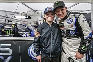 World Rallycross Actualités Solberg Jr, plus jeune pilote de Supercar de l'Histoire