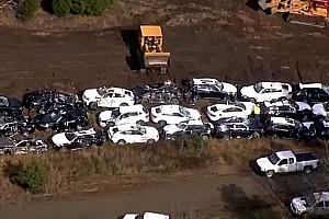 Automotive Noticias de última hora Vídeo: Más de un centenar de BMW destruidos en un accidente de tren