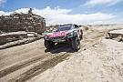 Dakar Sainz salva una etapa crucial acabando en tercera marcha