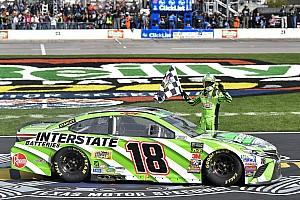 NASCAR Cup Rennbericht NASCAR in Fort Worth: Texas-Triumph für Kyle Busch