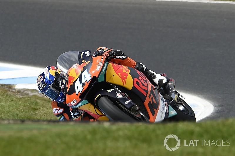 Oliveira vence 1ª para KTM na Moto2; Morbidelli é 3º