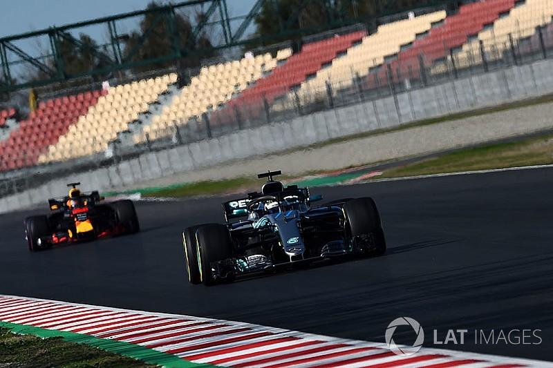 F1 2018: Mercedes sieht Red Bull als Hauptgegner - und umgekehrt
