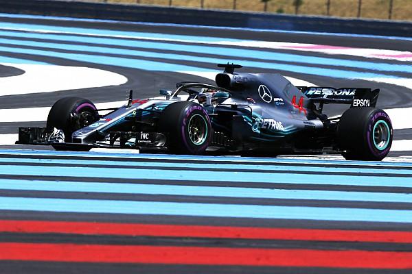 Formule 1 Résumé d'essais libres EL1 - Hamilton en tête, Ericsson en feu