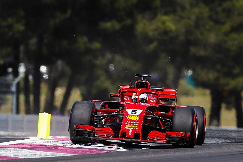 "Vettel start als derde: ""Achteraf te hard gepusht"""