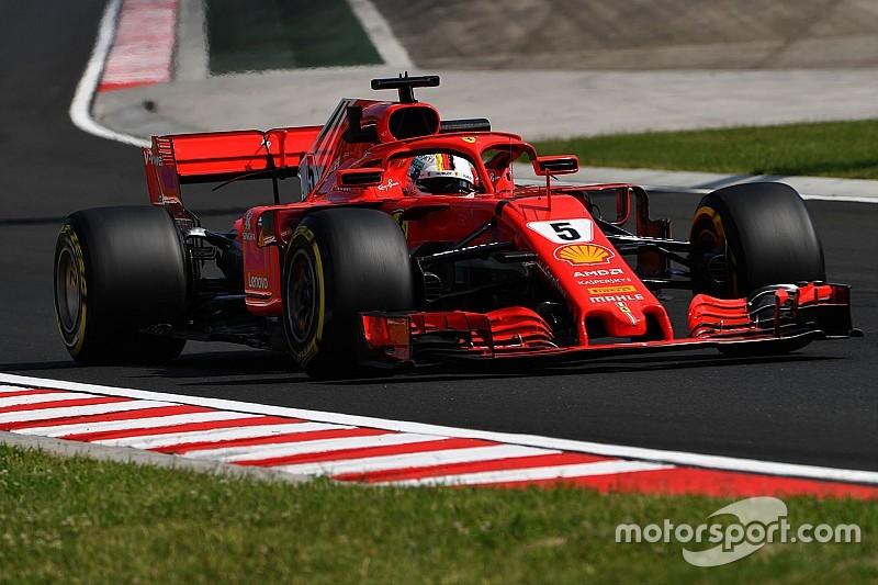 Vettel lidera último treino livre para o GP da Hungria