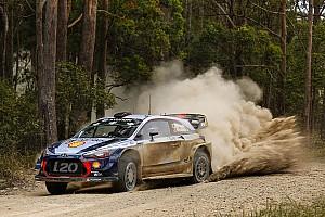 WRC Отчет о секции Невилль перехватил лидерство в Австралии после схода Миккельсена