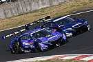 Super GT Button stays on top as Super GT test ends