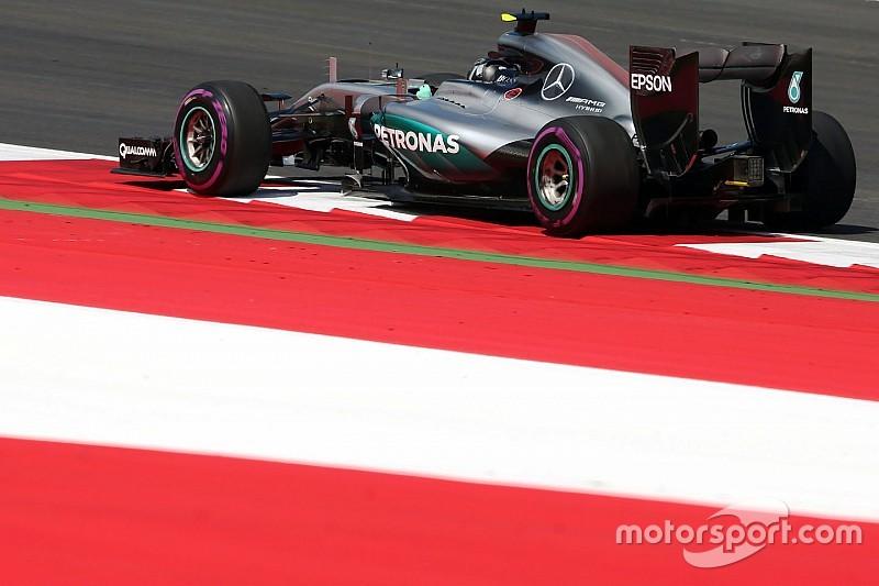 Rosberg supera a Hamilton en unos veloces libres 1