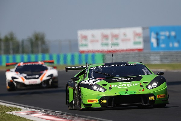 Blancpain Sprint Barcelona: Perera on pole, Ide best of the title contenders
