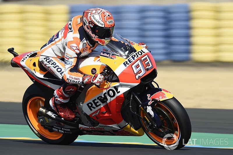 Le Mans MotoGP: Marquez edges out Dovizioso in FP1