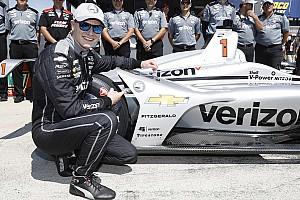 IndyCar Qualifying report Texas IndyCar: Newgarden leads Penske 1-2-3 to take pole