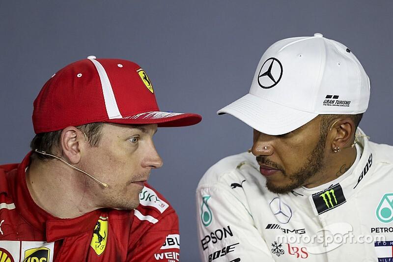 Hamilton diz que F1 sentiria falta de Raikkonen