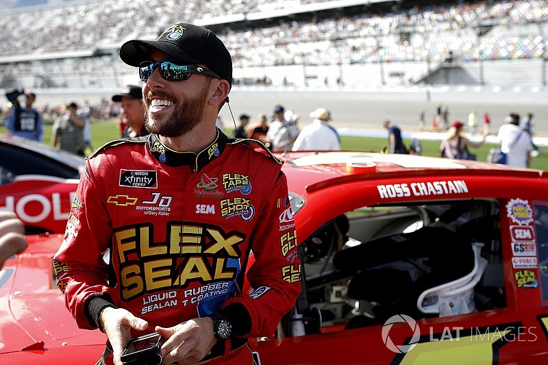 "Ross Chastain: ""It makes them mad when we race against them"""