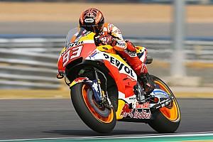 MotoGP Отчет о тестах Маркес возглавил протокол второго дня тестов MotoGP в Бурираме