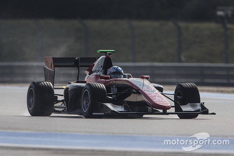 Hughes leidt 1-2 voor ART tijdens eerste GP3-test