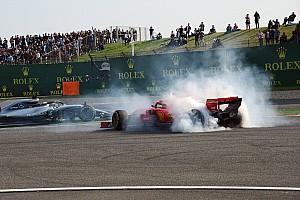 Formule 1 Nieuws Hamilton was bang om tegen Verstappen op te rijden