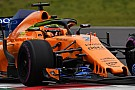 McLaren denied F1 testing mileage by detached exhaust
