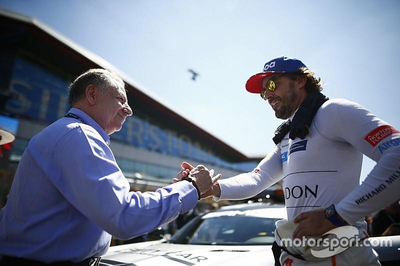 Todt, Alonso'ya teşekkür etti