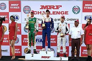 Indian Open Wheel Race report MRF Chennai: Presley bawa Merah Putih ke puncak podium Race 2