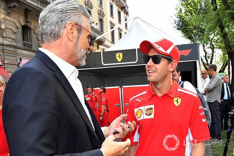 A Ferrari szerint itt az idő, hogy fájdalmas csapást mérjenek a Mercedesre