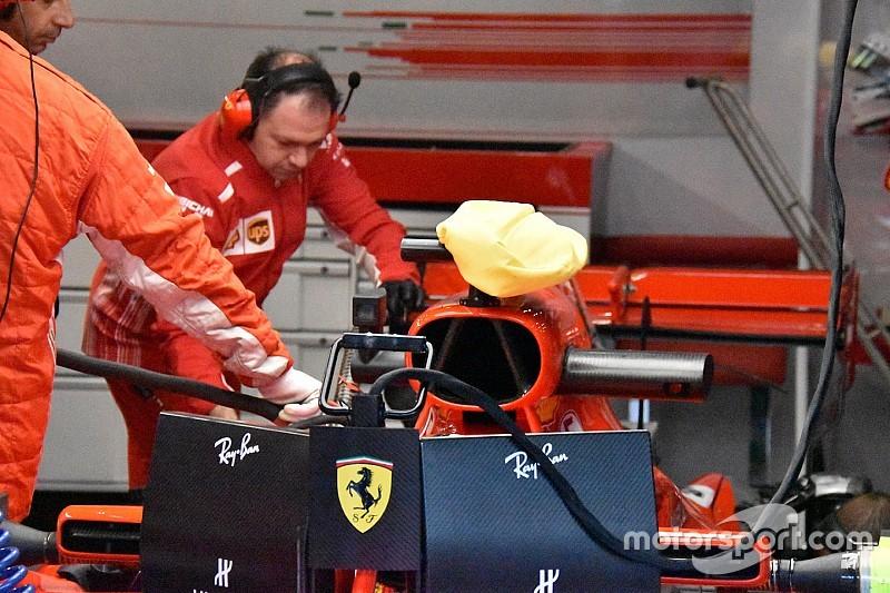 La FIA interdit à Ferrari le sac de glace sur sa caméra