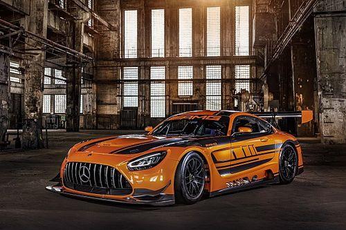 Mercedes onthult gloednieuwe AMG GT3 op Nürburgring