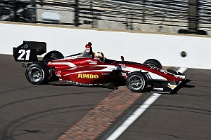 Van Kalmthout met Juncos Racing in Indy Lights