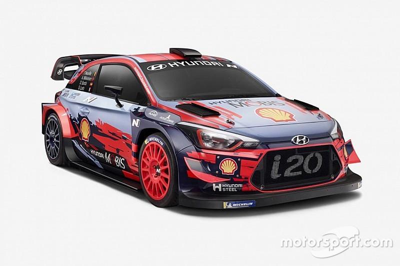 Fotogallery: ecco la nuova livrea della Hyundai i20 Coupé per il WRC 2019