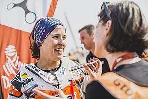 La reina del Dakar logra su segundo mejor resultado de manera inesperada