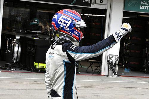 Williams'la ilk puanlarını alan Russell: ''Gözümden yaş geldi''