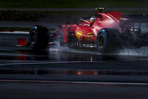 Sainz, Ferrari'nin yeni motorundan memnun