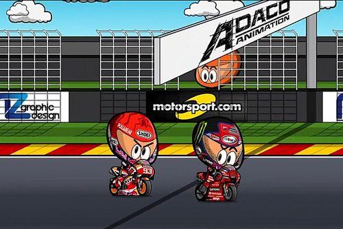 Vídeo: el resumen del GP de Aragón de MotoGP, por MiniBikers