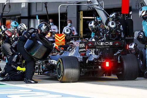 """Hamilton: Des pneus comme des """"ballons"""" avec les nouvelles pressions"""