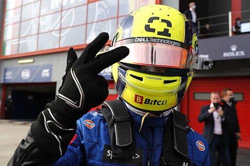 Колено Норриса в конце гонки попыталось подыграть Хэмилтону