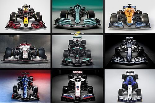 F1: Relembre todos os carros de 2021 apresentados até agora