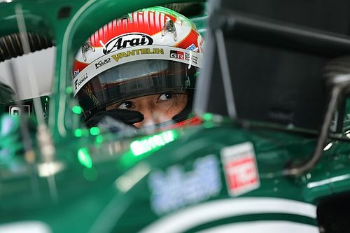 """Nakajima """"half happy"""" about Alesi's success in his absence"""