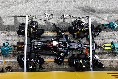 Uitgelegd: Waarom Mercedes in Barcelona koos voor een tweestopper