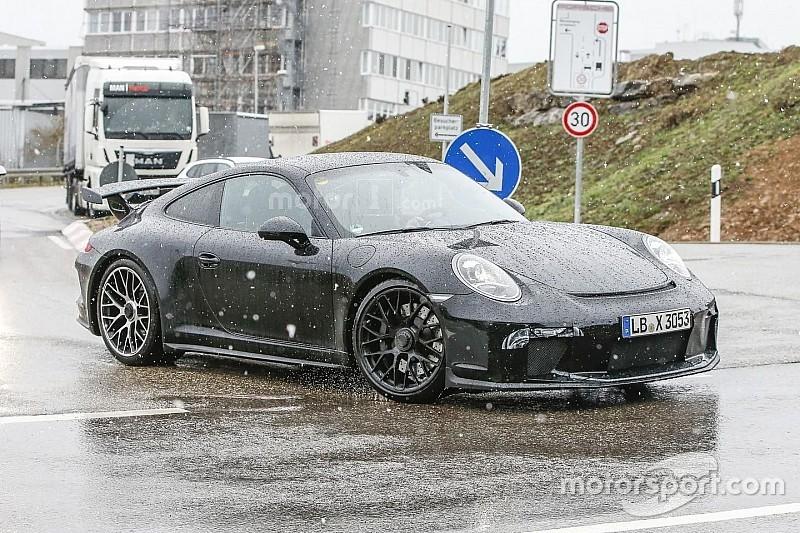 Gespot: nieuwe Porsche 911 GT3 aan de tand gevoeld in Duitsland